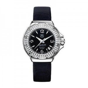 TAG Heuer Formula 1 Glamour Diamonds Watch with Black Nizza Band
