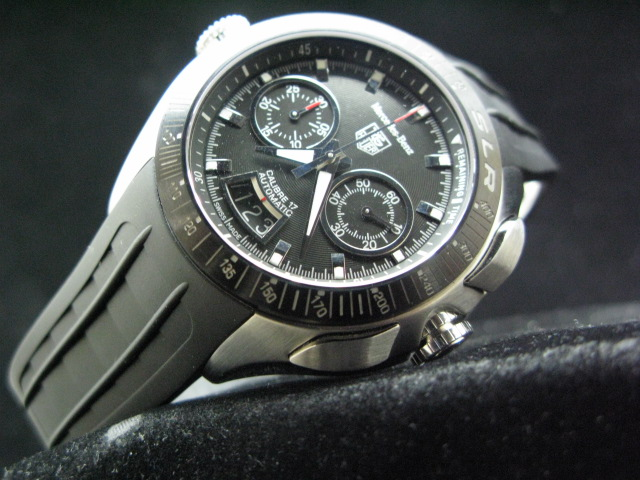Tag heur 39 s slr is a racy timepiece tag heuer watches for Mercedes benz tag heuer watch