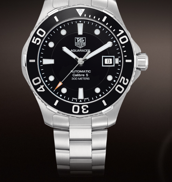 TAG Heuer's Aquaracer 5 calibre, 41 MM