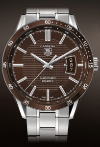 Image - Brown Dial Version of the Carrera WV211N.BA0787