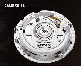 The TAG Heuer Monaco, a Calibre 12 Automatic Chronograph which gives accuracy of 1/8th of a second.