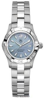 TAG Heuer TAG Heuer Aquaracer Blue Mother of Pearl Stainless Steel Women's Watch WAF1417.BA0823