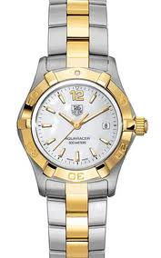 TAG Heuer Aquaracer Two-Tone Ladies Watch WAF1424.BB0825