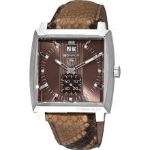 Tag Heuer Monaco Brown Python Watch WAW1315.FC6217