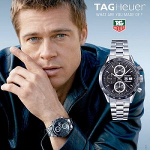 Brad Pitt sporting a Grand Carrera