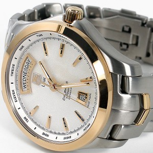 TAG Heuer Men's WJF2050.BB0593 Link Automatic Day-date Two-Tone Watch