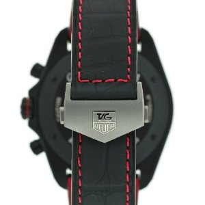 Image of the clasp and wrist band of the TAG Heuer Grand Carrera CAV518B.FC6237