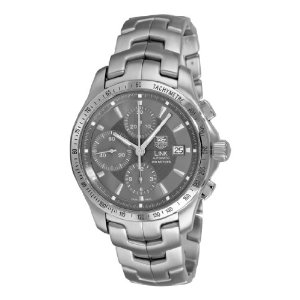 Tag Heuer Link Men's Watch CJF2115.BA0594: stainless steel, chronograph, slate gray dial, linked