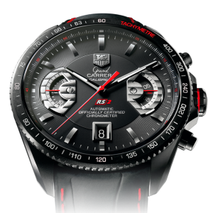 Image of the face of the TAG Heuer Grand Carrera CAV518B.FC6237
