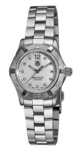 TAG Heuer Women's Aquaracer Stainless Steel Diamond Watch WAF1415.BA0824