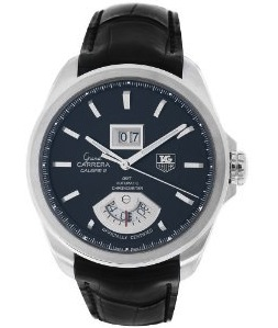 TAG Heuer Men's Grand Carrera Grand Date GMT Automatic Watch WAV5111.FC6225