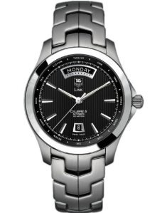 TAG Heuer Men's Link Stainless Steel Automatic Day/Date Watch WJF2010.BA0592