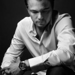 An image of Leonardo DiCaprio with the Aquaracer watch