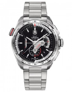 Tag Heuer CAV5115.BA0902 Grand Carrera Automatic Chronograph Black Dial Watch