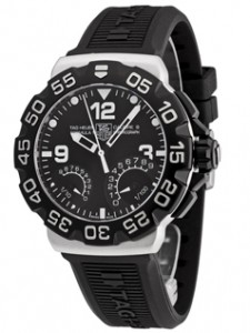 Tag Heuer Men's Formula 1 Calibre S 1/100th Sec Electro-Mechanical Chronograph 44 MM watch (model CAH7010.BT0717)