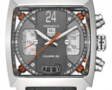 Tag Heuer Monaco Twenty-Four Calibre 36 Chronograph Men's Watch CAL5112.FC6298