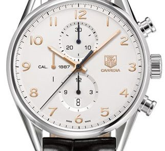 TAG Heuer Carrera Calibre 1887 43mm Watch CAR2012.FC6235 Review