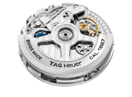 The mechanics of a TAG Heuer Calibre 1887